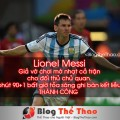 Lionel Messi ghi ban ket lieu thanh cong