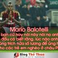 Mario Balotelli dang sau ve lanh lung ay la ca mot tam long cao thuong