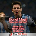 lionel messi mua giai that bai