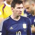 lionel messi maradona argentina