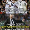 Carlo Ancelotti nguoi hung cua Real