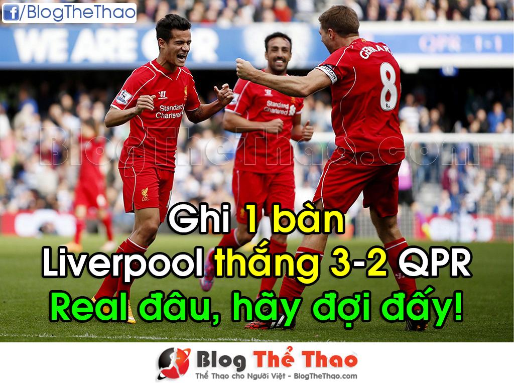 Liverpool 3-2 QPR 2014