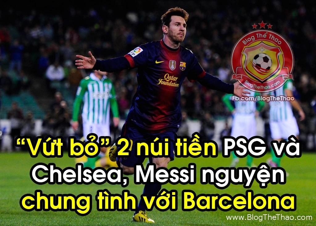 Lionel Messi barcelona tu choi psg chelsea