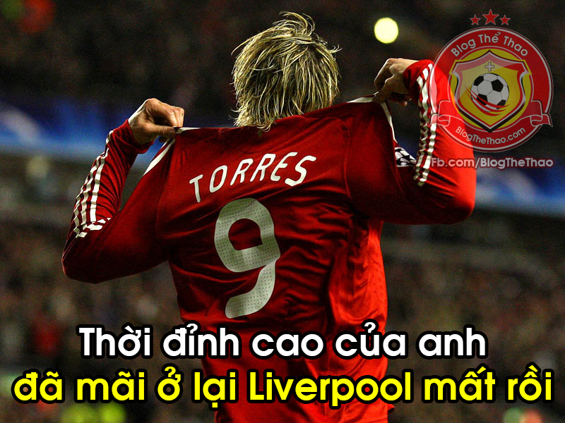 thoi ky dinh cao cua Fernando Torres Liverpool