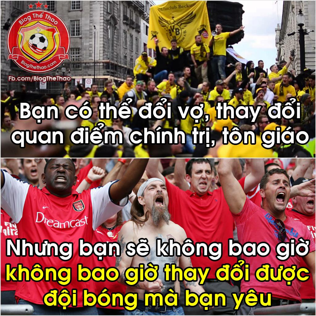 doi bong ban yeu thich