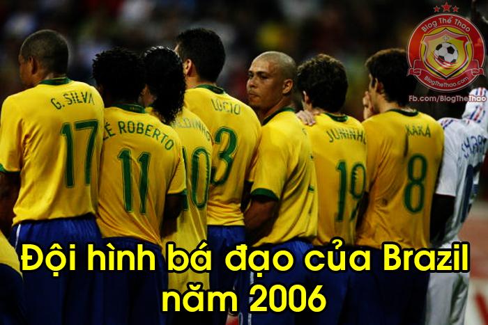 doi hinh brazil nam 2006