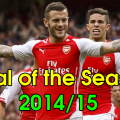 wilshere goal vs west brom goal of the season